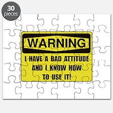 Attitude Warning Puzzle