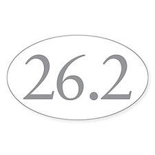 26.2 Marathon Distance Decal