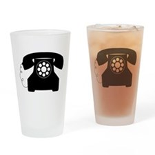Telephone Drinking Glass