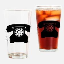 Telephone Drinking Glass