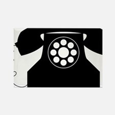 Telephone Rectangle Magnet