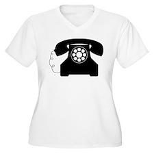 Telephone Plus Size T-Shirt