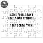 Bad Attitude Puzzle