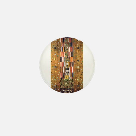 Gustav Klimt End of the Wall Mini Button