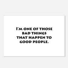 Bad Things Good People Postcards (Package of 8)