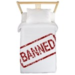 Banned Stamp Twin Duvet