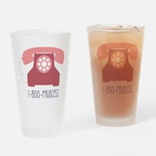 1-800-PRINCESS Drinking Glass