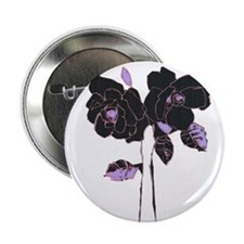 "Twin Roses 2.25"" Button"