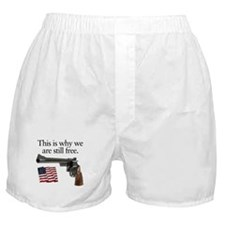 Guns keep our freedom Boxer Shorts