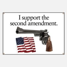 Support the second amendment Banner