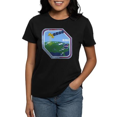 Landsat 7 Program Logo Women's Dark T-Shirt