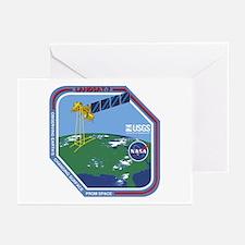 Landsat 7 Program Logo Greeting Cards (Pk of 10)