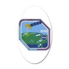 Landsat 7 Program Logo Wall Decal