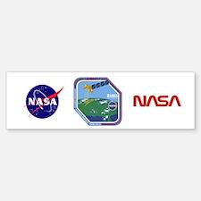 Landsat 7 Program Logo Sticker (Bumper)