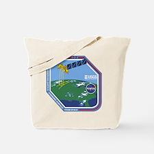 Landsat 7 Program Logo Tote Bag