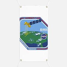 Landsat 7 Program Logo Banner