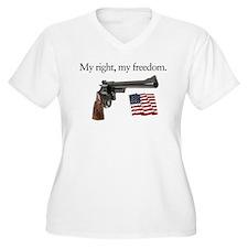 Second amendment my right my freedom T-Shirt