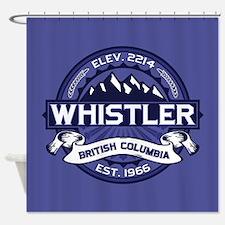 Whistler Midnight Shower Curtain