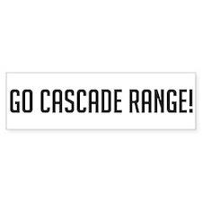 Go Cascade Range Bumper Bumper Sticker