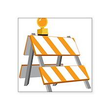 Construction Barrier Sticker