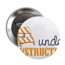 "Under Construction 2.25"" Button"