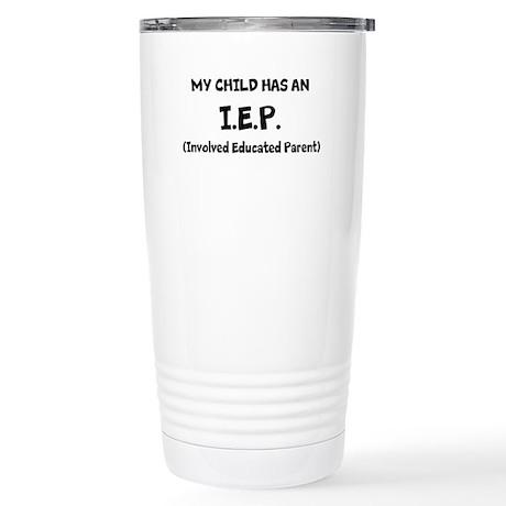 I.E.P. Stainless Steel Travel Mug