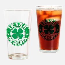 Irish Grandpa Drinking Glass