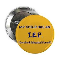 """I.E.P. 2.25"""" Button"""