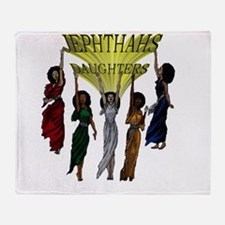 Jephthas Daughters Throw Blanket