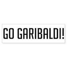 Go Garibaldi Bumper Bumper Sticker