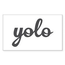 Yolo Bumper Stickers
