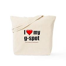 """Love My G-Spot"" Tote Bag"
