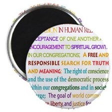 "Funny Unitarian universalist 2.25"" Magnet (10 pack)"