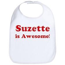 Suzette is Awesome Bib