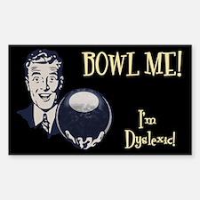 Bowl Me! III Sticker (Rectangle)