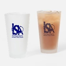 Israel Space Agency Drinking Glass