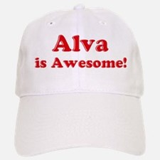 Alva is Awesome Baseball Baseball Cap
