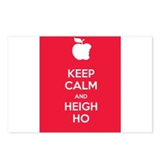 Keep Calm Heigh Ho Postcards (Package of 8)