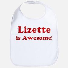 Lizette is Awesome Bib