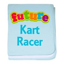 Future Kart Racer baby blanket