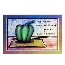 Bell Pepper Postcards (Package of 8)