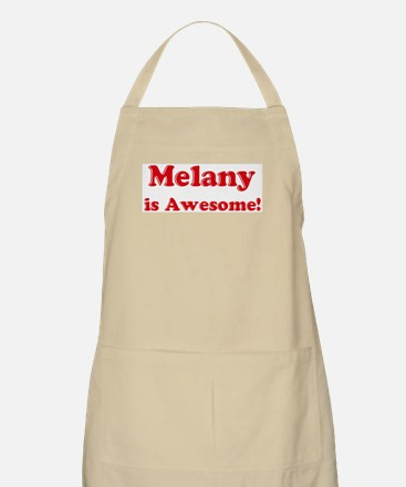 Melany is Awesome BBQ Apron