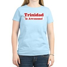 Trinidad is Awesome Women's Pink T-Shirt