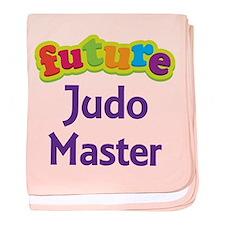 Future Judo Master baby blanket
