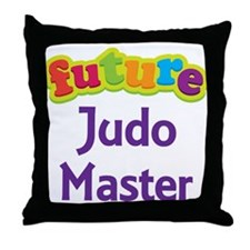 Future Judo Master Throw Pillow