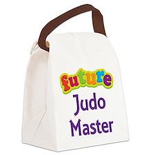 Future Judo Master Canvas Lunch Bag