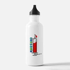 giant syringe blue Water Bottle