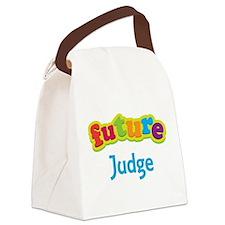 Future Judge Canvas Lunch Bag