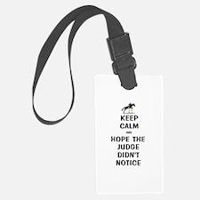 Funny Keep Calm Horse Show Luggage Tag