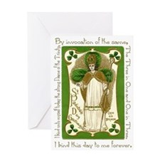 St. Patrick's Breastplate Greeting Card